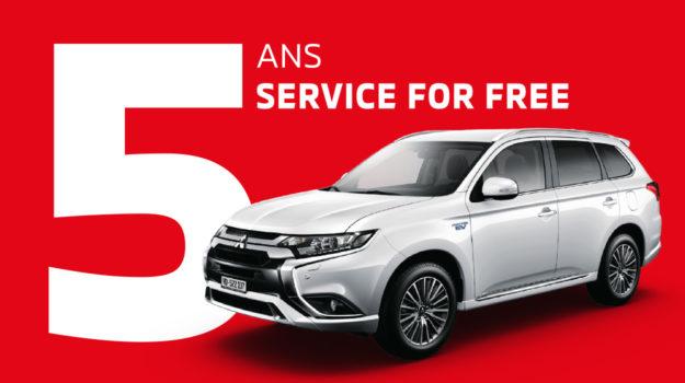 5 ans de garantie Mitsubishi