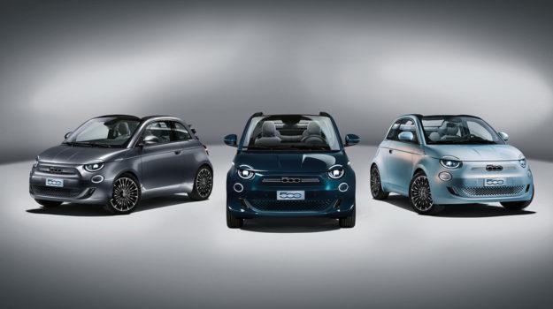 Nouvelle Fiat 500 électrique Prima