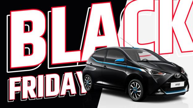 Toyota Black Friday jusqu'à -25%