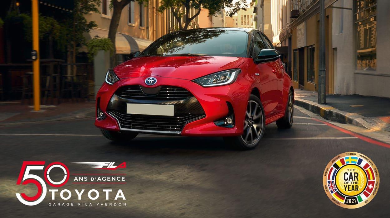 Double distinction pour la Toyota Yaris