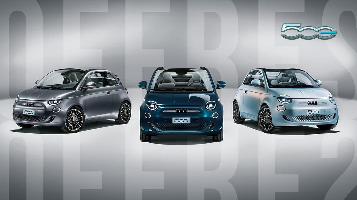 Actions exceptionnelles sur les Fiat 500 électriques