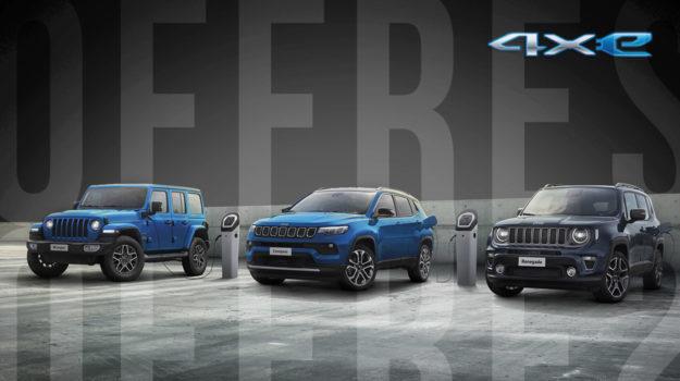 Actions exceptionnelles sur les Jeep Plug-in Hybrid