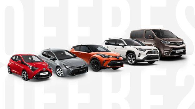 Actions exceptionnelles sur l'ensemble de la gamme Toyota