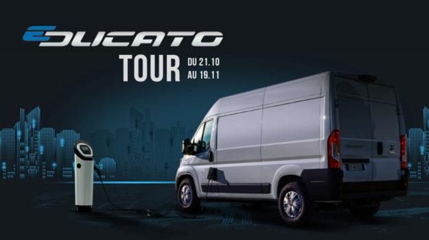 Une tournée électrisante avec le E-Ducato !